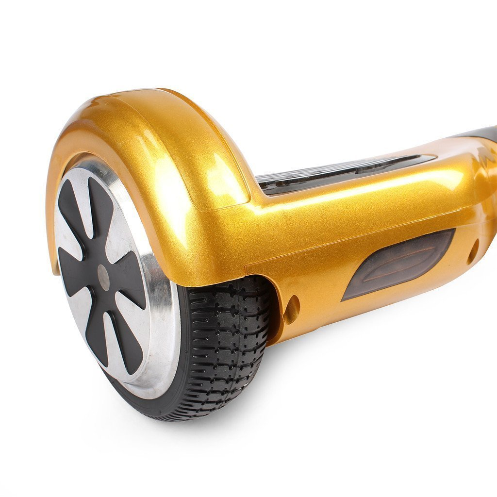 gold swegway wheel