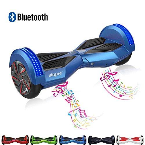 8 inch swegway - bluetooth LED - blue